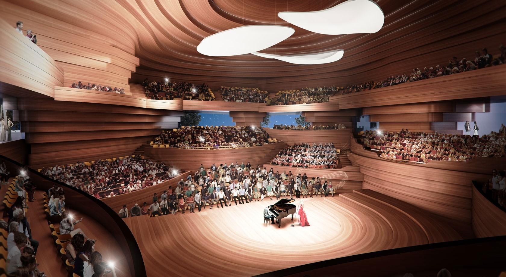 kadawittfeldarchitektur. Imágen cortesía de Beethoven Festspielhaus