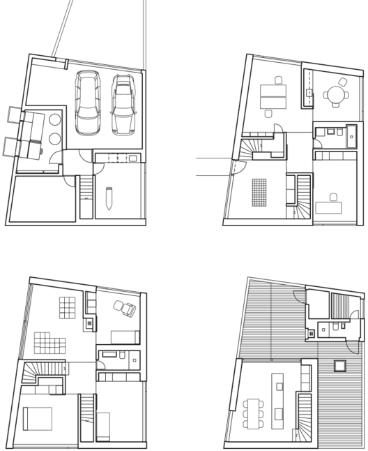 Floor Plan Definition Architecture: Mühlestrasse Residential And Studio Building