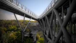 Puente Peatonal Tabiat / Diba Tensile Architecture