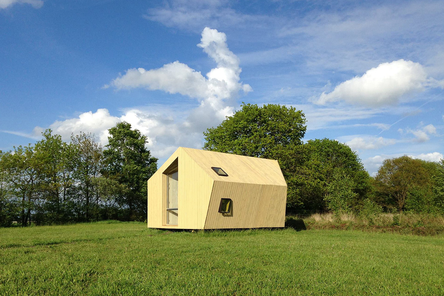 Cabañas para excursionistas Trek-In / MoodBuilders + Kristel Hermans Architectuur, Cortesía de Campsite