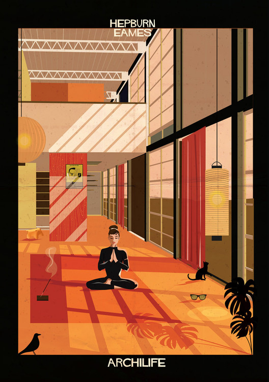 ARCHILIFE: Hollywood Stars Chill Out in Modernist Masterpieces, Courtesy of Federico Babina
