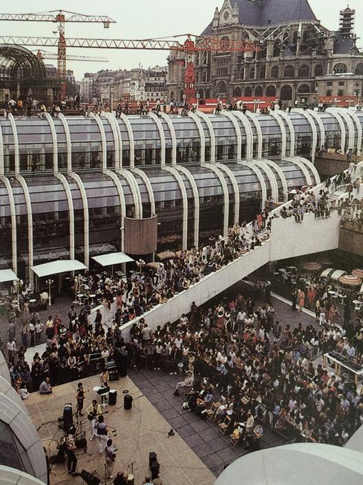 El Forum des Halles, actualmente en renovación