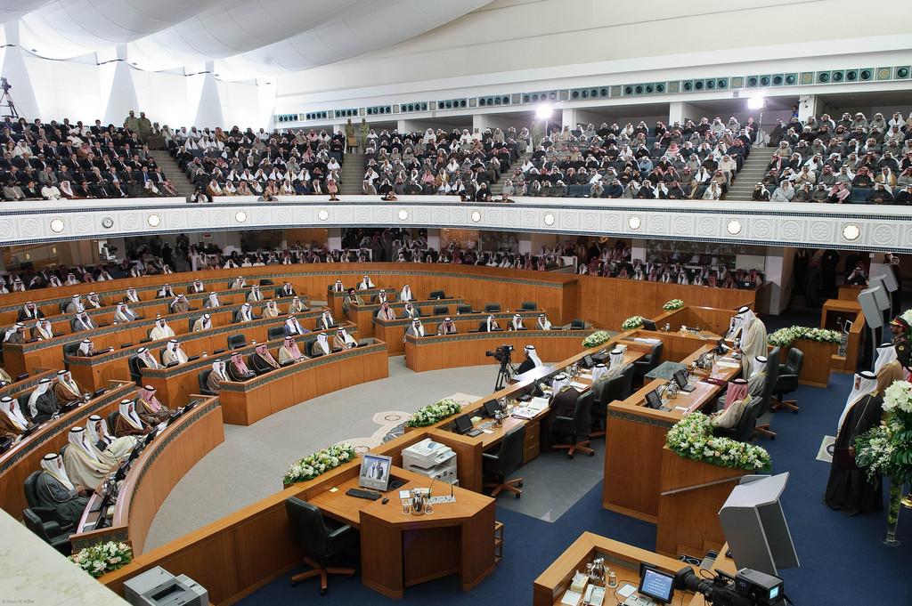 Interior de la Sala de Asamblea. Image © Usuario de Flickr: Kuwaitelections2012