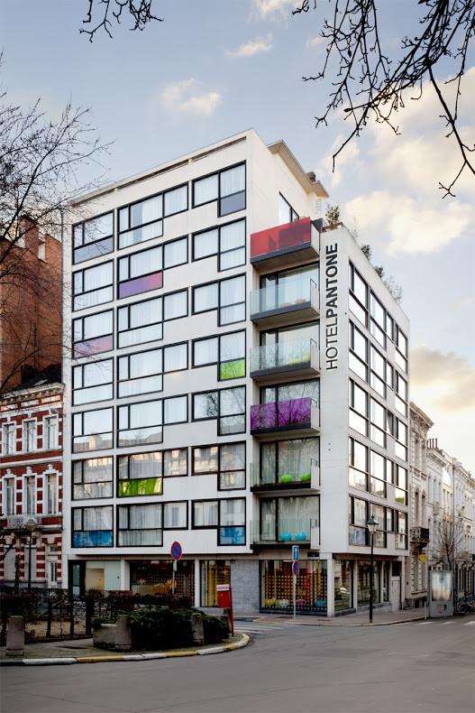 Entra en el universo multicolor del Hotel Pantone con estas llamativas imágenes , © Sven Laurent