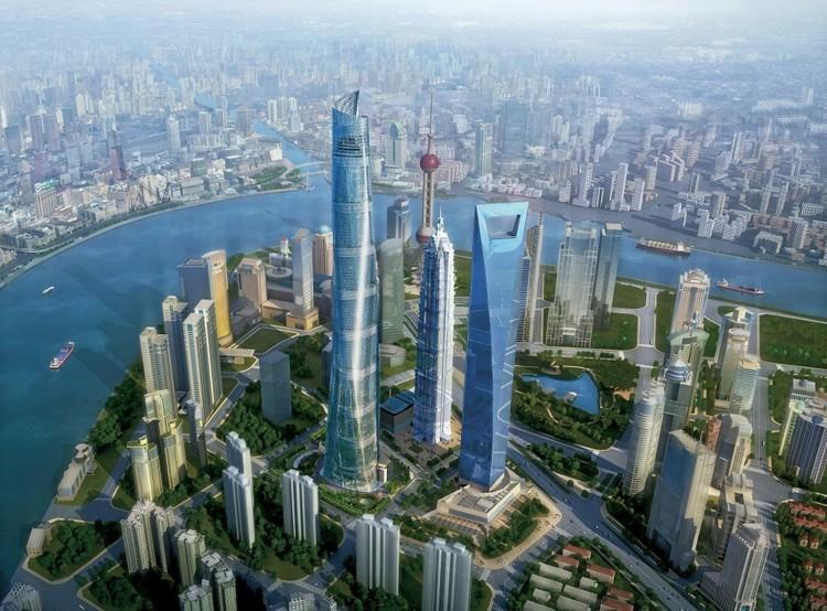 © Gensler. Imagen Shanghai Tower enn Shanghai, China — 632m