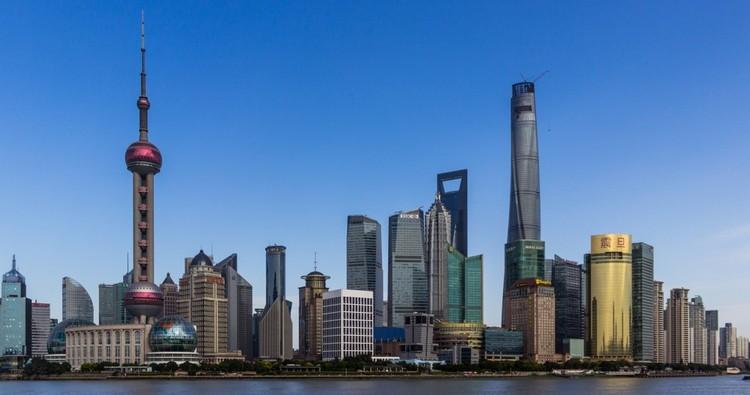 © Danijel J/Flickr. Imagen Shanghai Tower en Shanghai, China — 632m