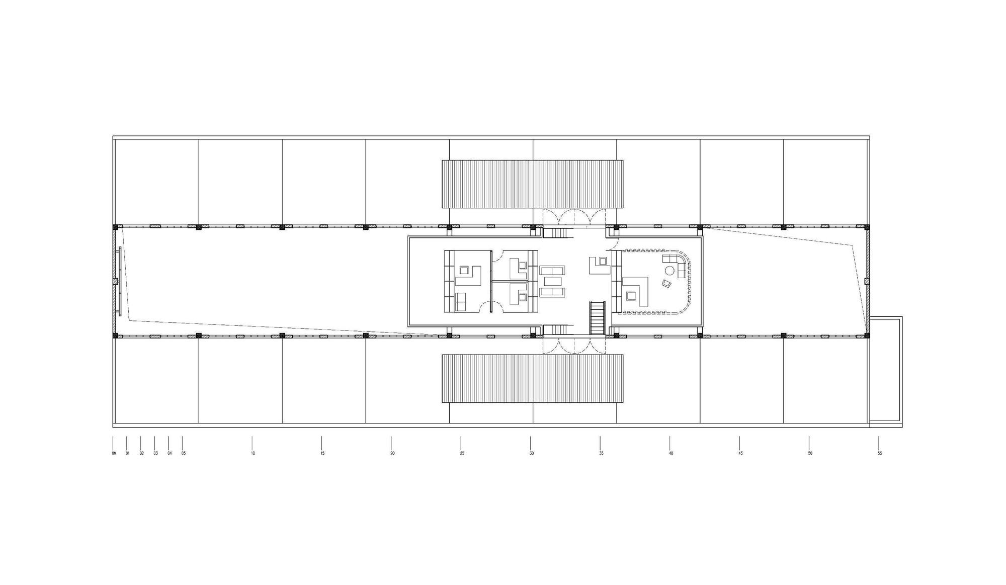 Office Sketch Plan Building  Floor