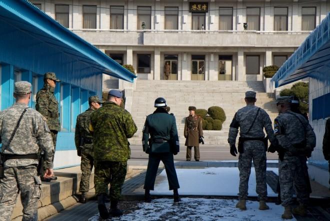 Fotografía de la zona desmilitarizada tomada desde el lado sur-coreano con vistas a Corea del Norte. © Reprodução/Flickr/CC. Cortesía de Opera Mundi