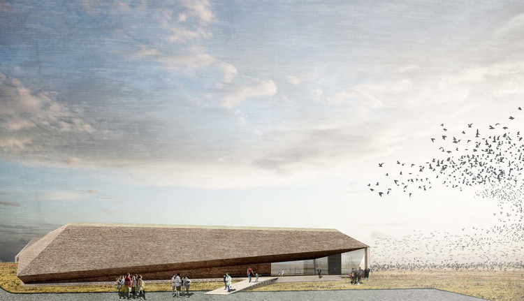 Dorte Mandrup Designs Wadden Sea Center for Denmark's Largest National Park, Courtesy of Dorte Mandrup Arkitekter