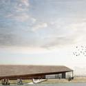 Dorte Mandrup diseña un nuevo centro para el parque nacional más grande de Dinamarca Courtesy of Dorte Mandrup Arkitekter