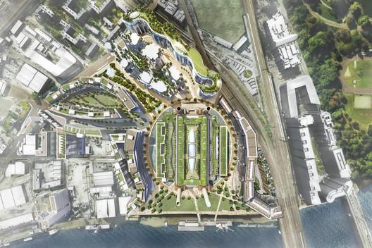 Masterplan. Image Courtesy of Battersea Power Station