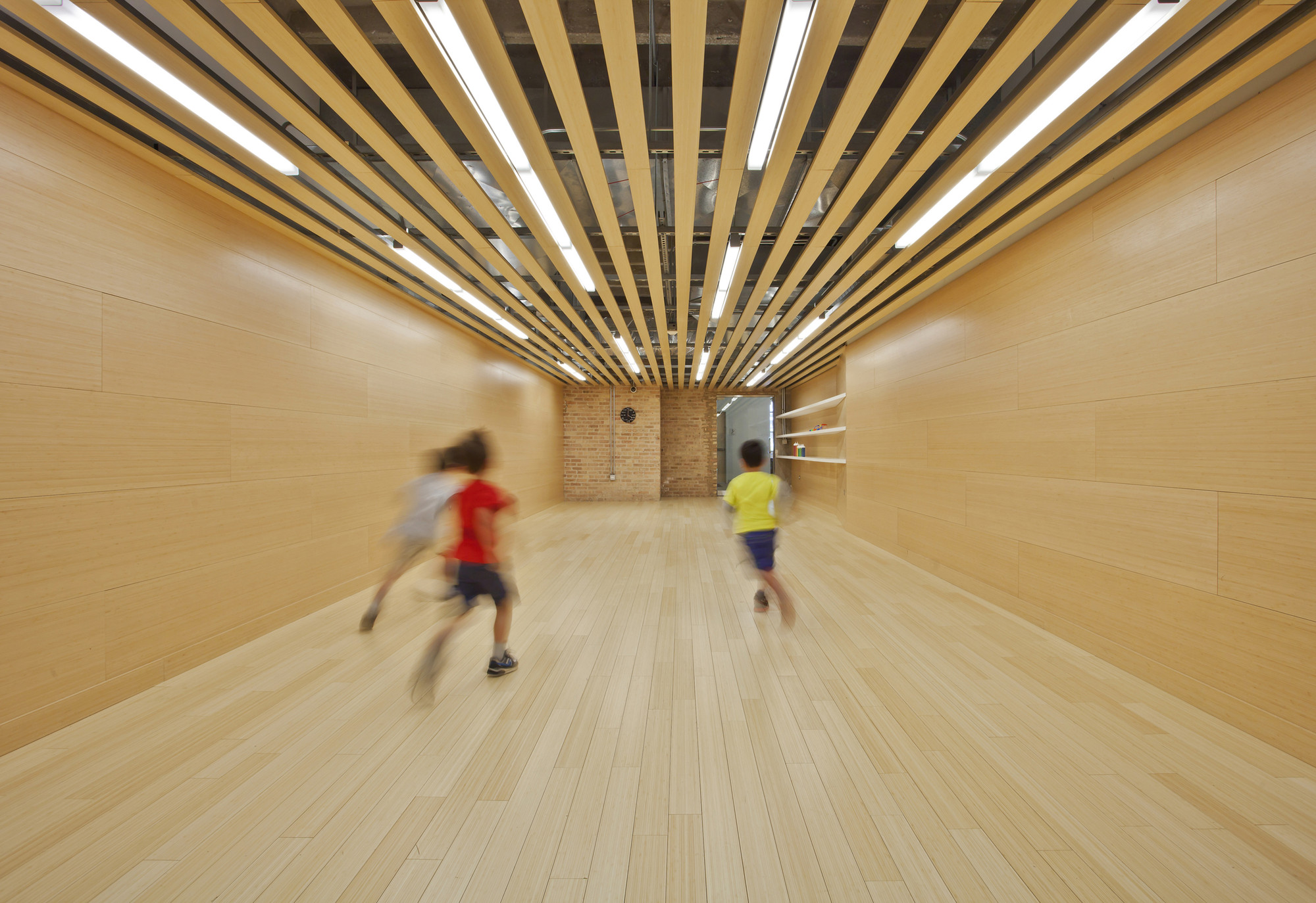 Kids Science Labs 02  / Woodhouse Tinucci Architects, © Mike Schwartz