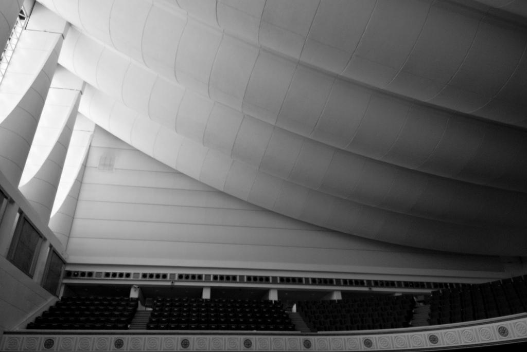 Cubierta de la Cámara de Debates. Image © Jeffrey van der Wees