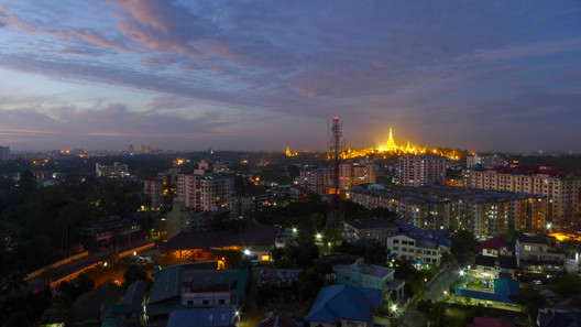 View from Golden Hill Towers in Yangon, Myanmar (2010). Image © Flickr CC User Soe Lin