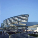Hotel. Image Courtesy of Aedas