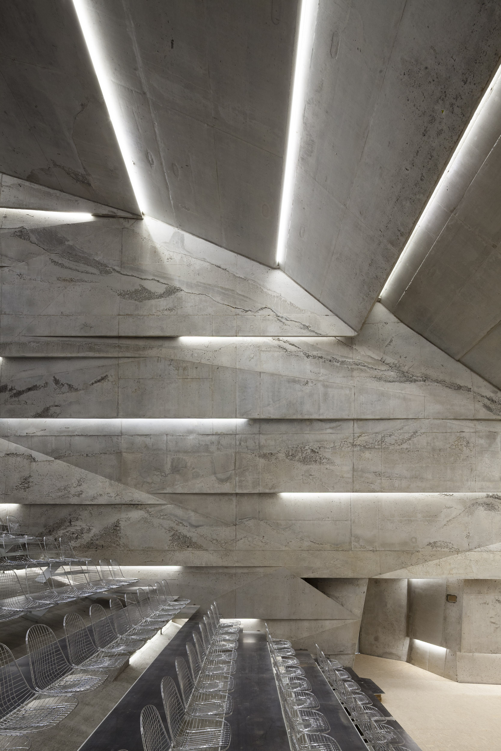 Gallery of concert hall blaibach peter haimerl for Raw space architects