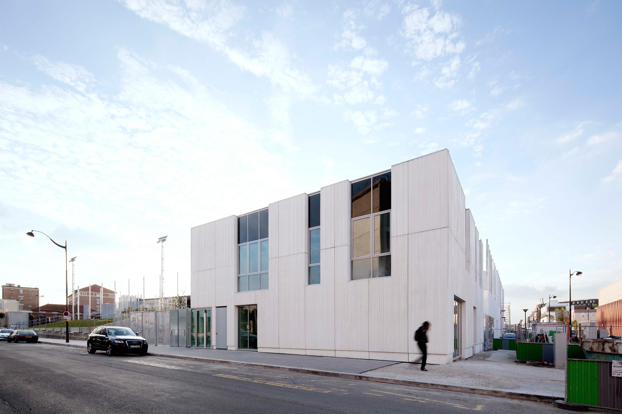 ZAC del Lilas Multi-Purpose Building / SCAPE, © Francesco Mattuzzi