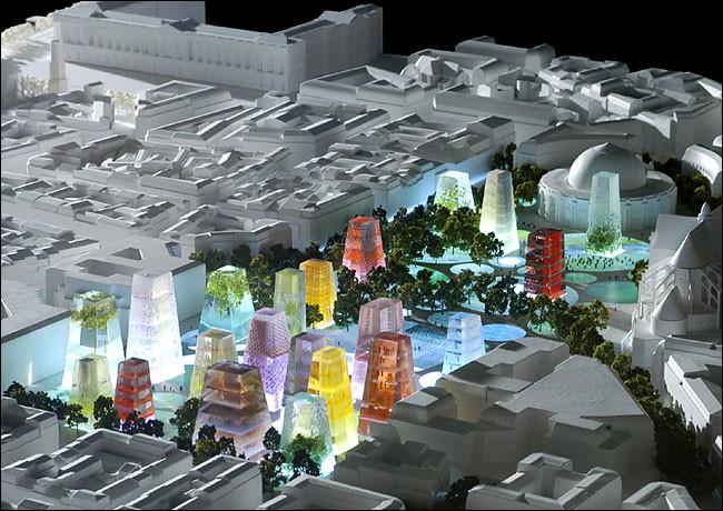 Proyecto para Les Halles – Paris (2003). Cortesía de OMA