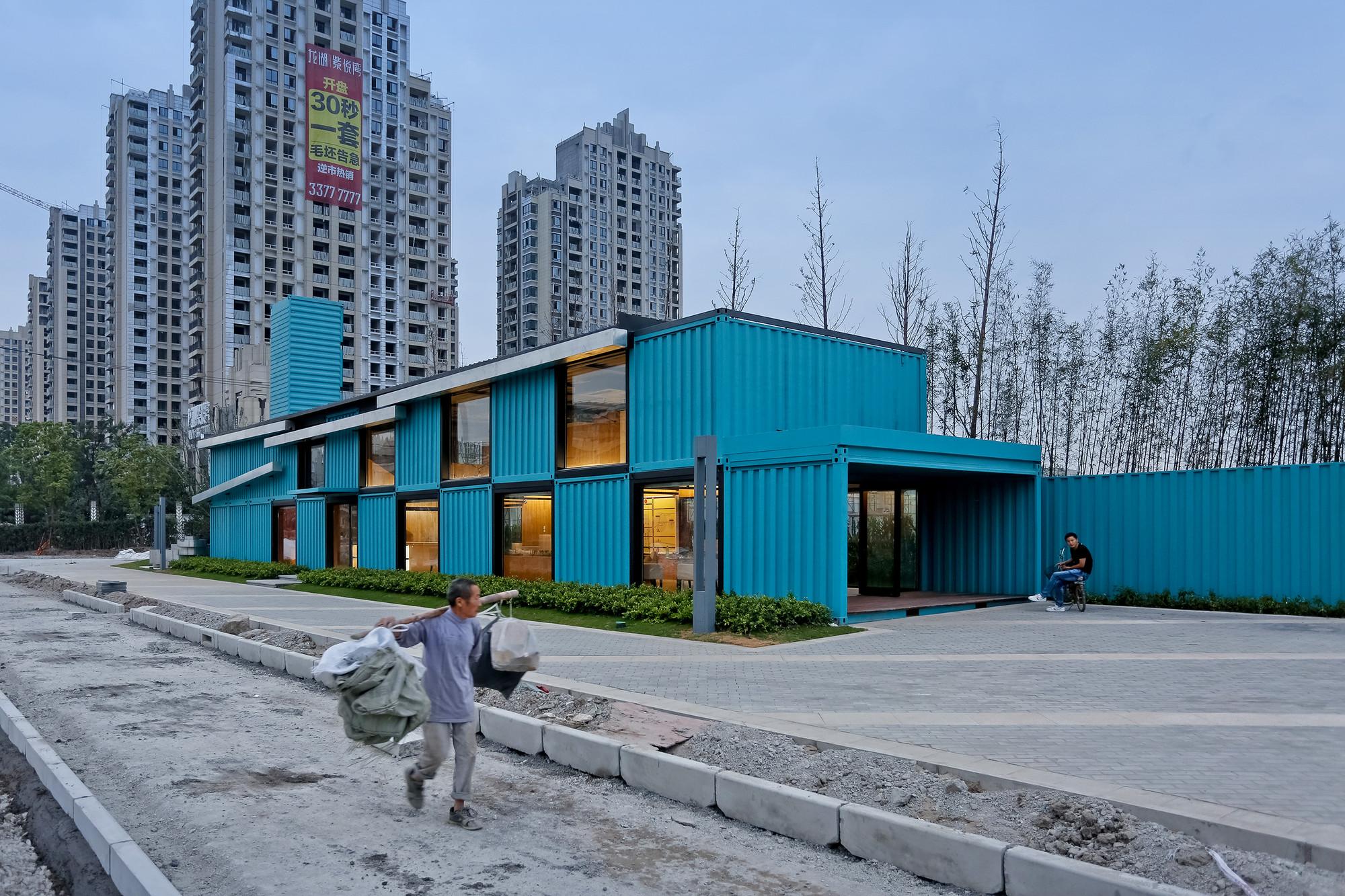 Oficina de ventas contenedor / Atelier XÜK, © Su shengliang