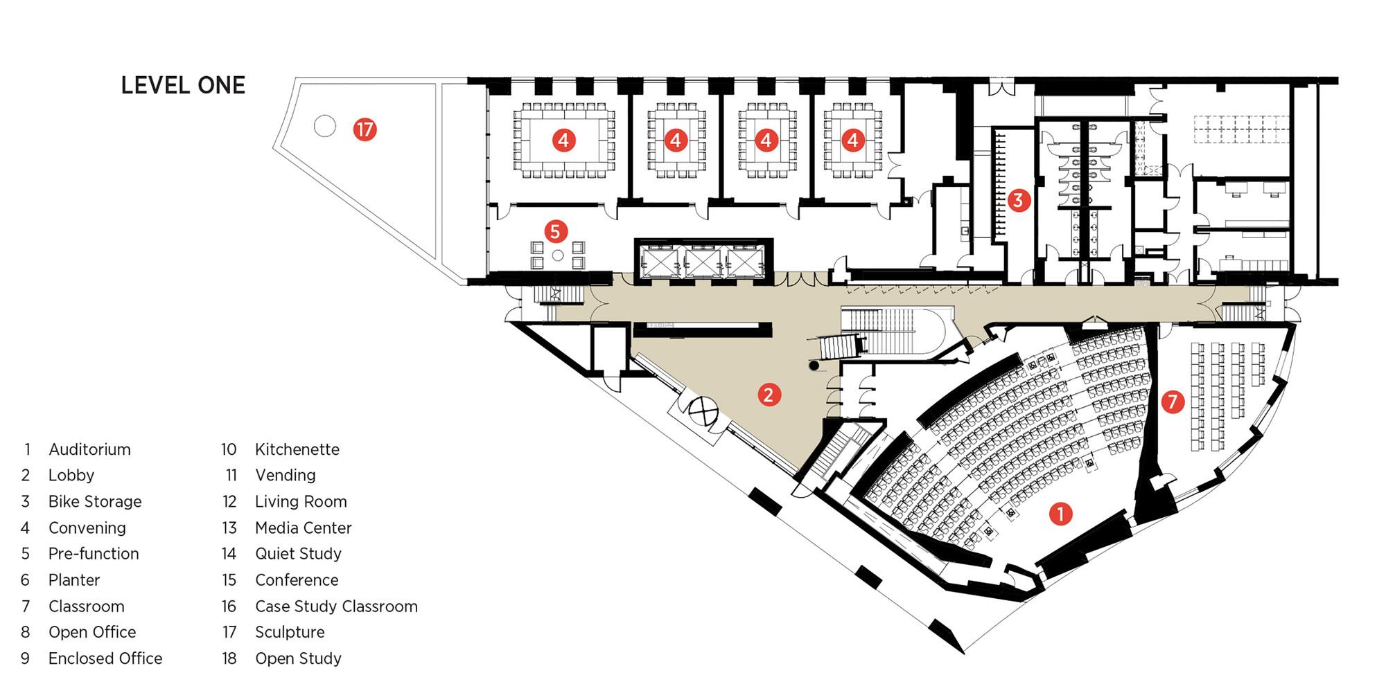 Cultural Center Floor Plan Escola De Sa 250 De P 250 Blica Do Instituto Milken Payette
