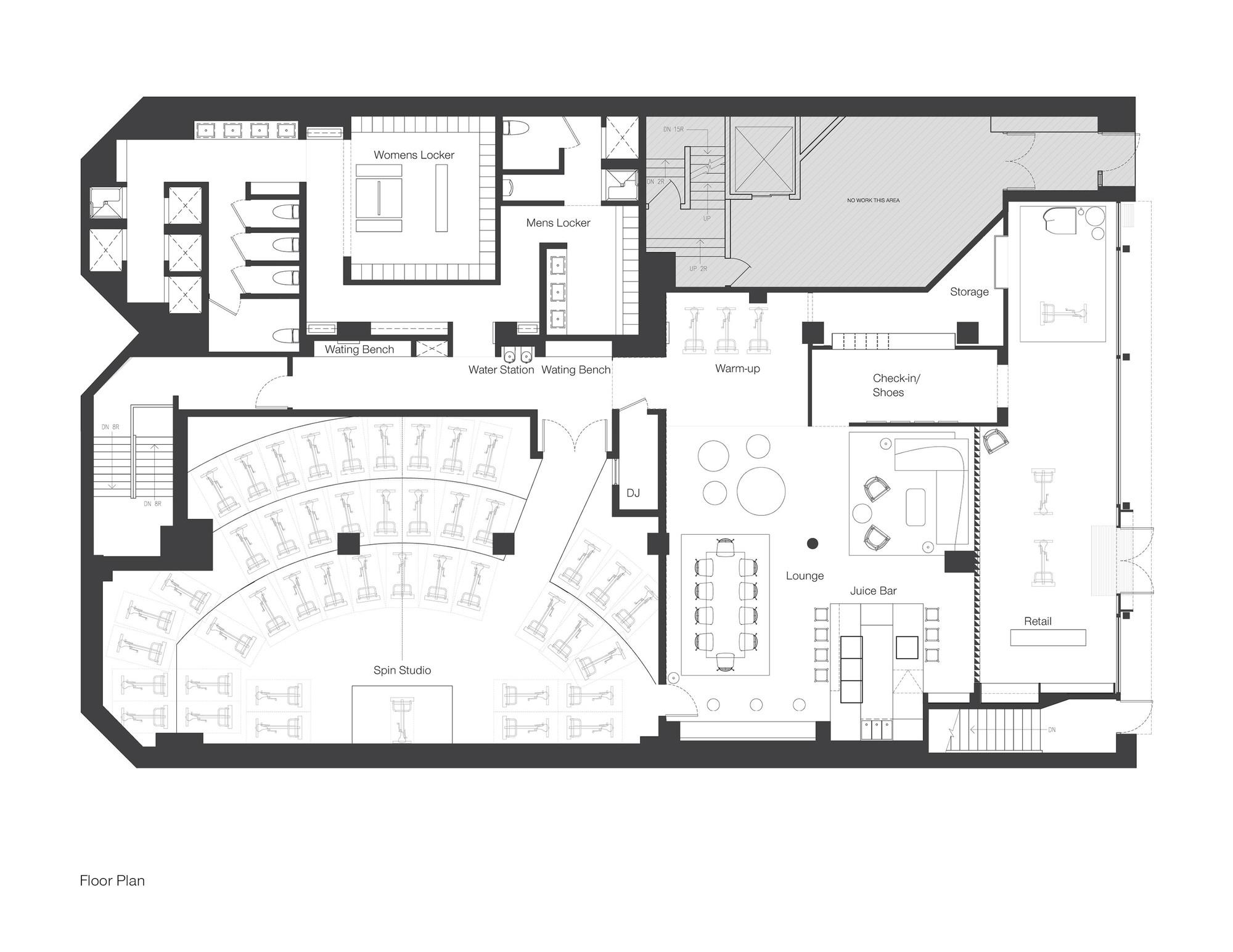 Bike Shop Floor Plan Gallery Of Peloton C Bernheimer Architecture 12