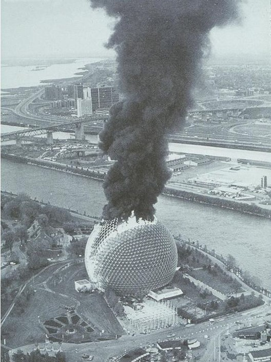 The 1976 fire. Imagen de Reddit.