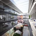 Atrium Interior. Image Courtesy of HAEAHN