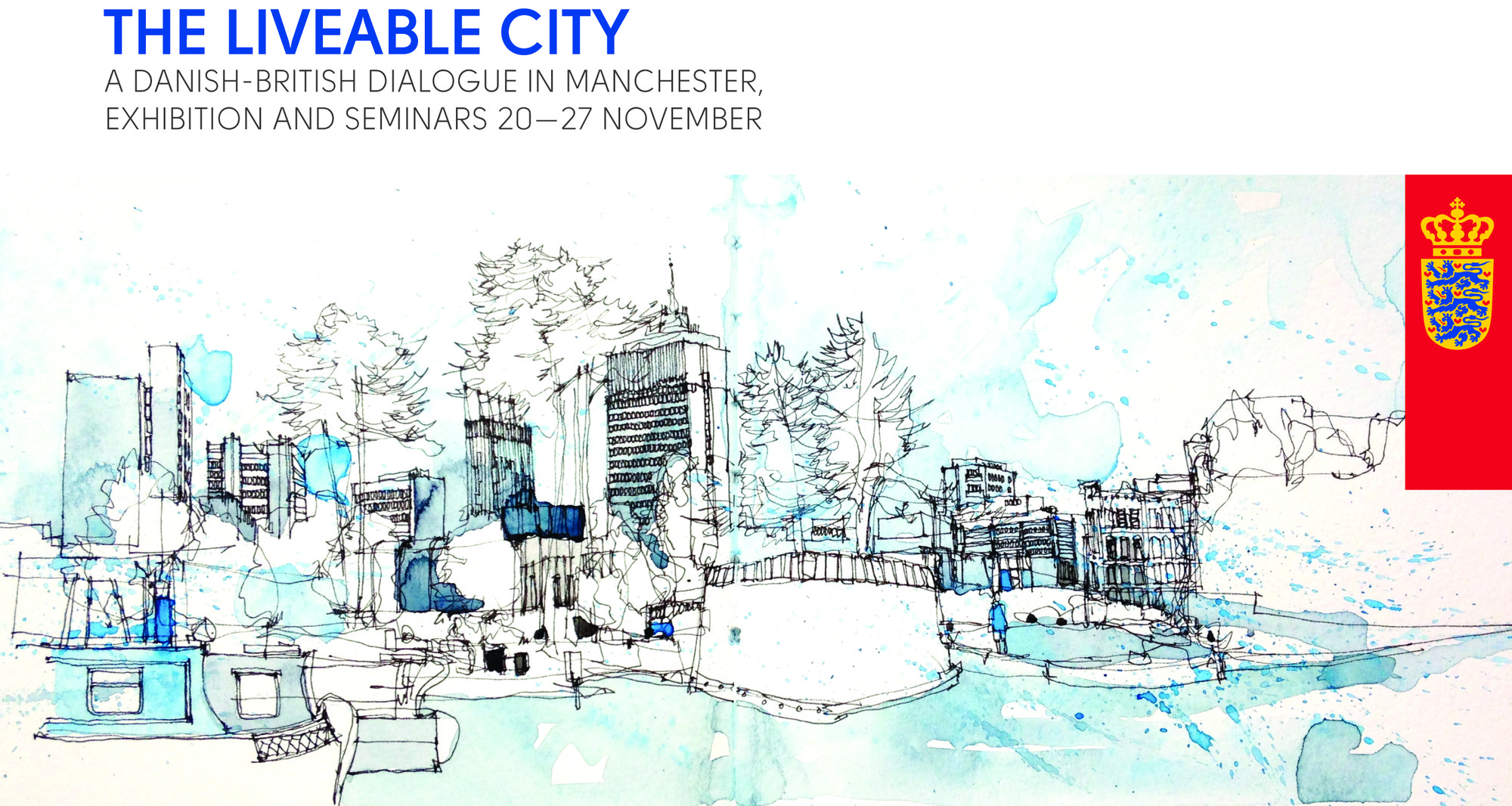 """Danish Embassy and University of Manchester Present """"The Liveable City"""", Courtesy of Kåre Gade"""
