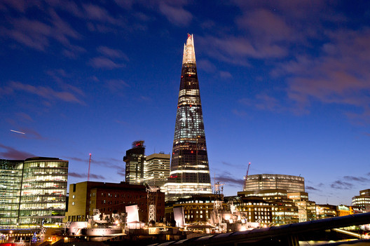 One of the more embarrassing examples of the ARB's 'mission creep' which the review may address came in 2012, when they demanded that media organizations cease to refer to Renzo Piano, designer of the Shard, as an architect. Image © Eric Smerling