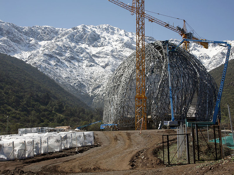 Cómo se construyó el Templo Bahá'í para Sudamérica, por Hariri Pontarini Architects, Cortesía de Templo Bahá'í de Sudamérica