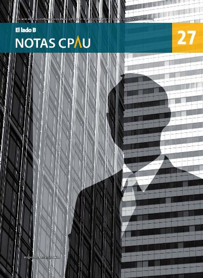 Revista Notas CPAU #27: El lado B
