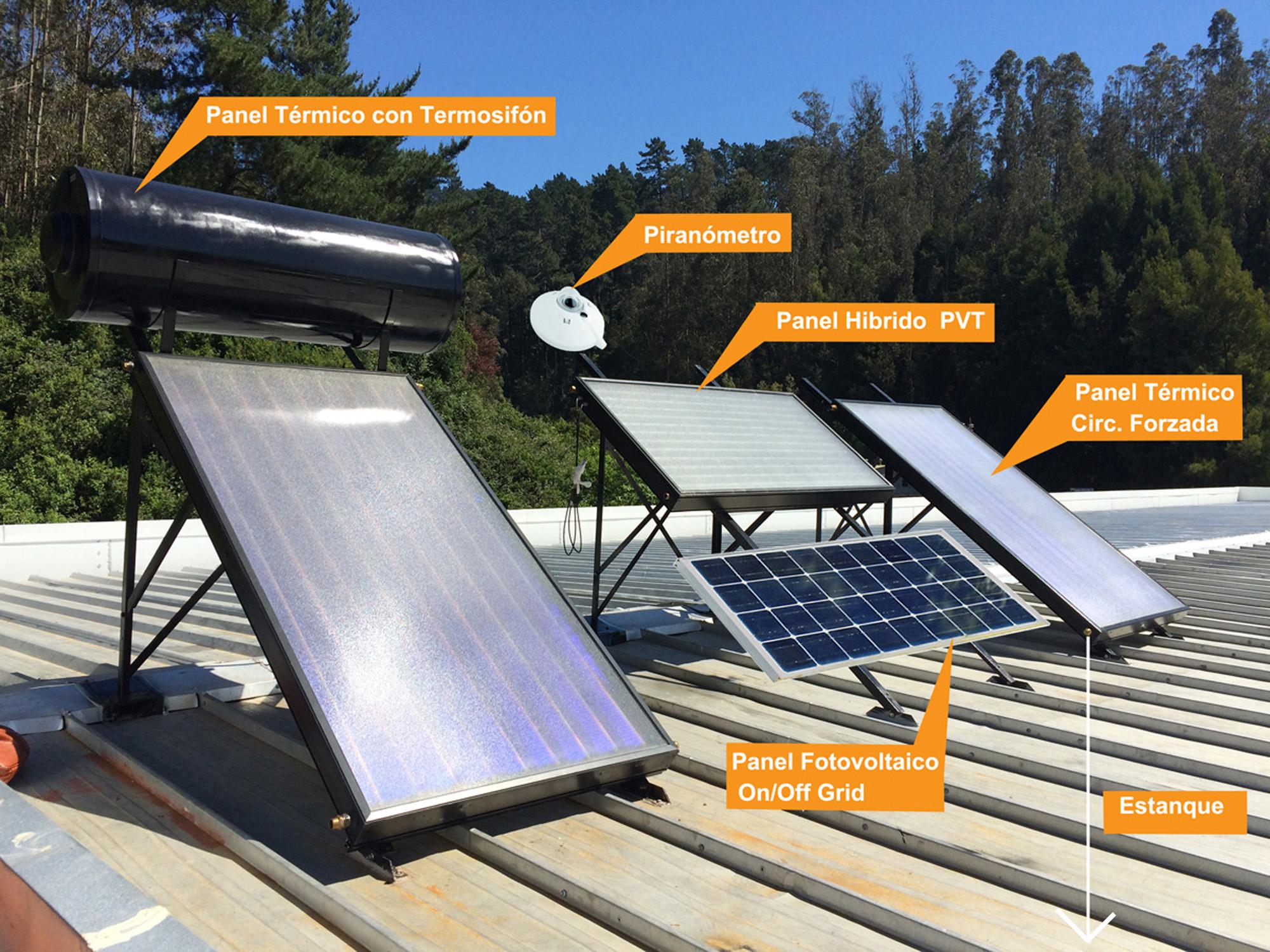 Instalación de paneles solares. Image © CONFIN AKA-ERNC-007