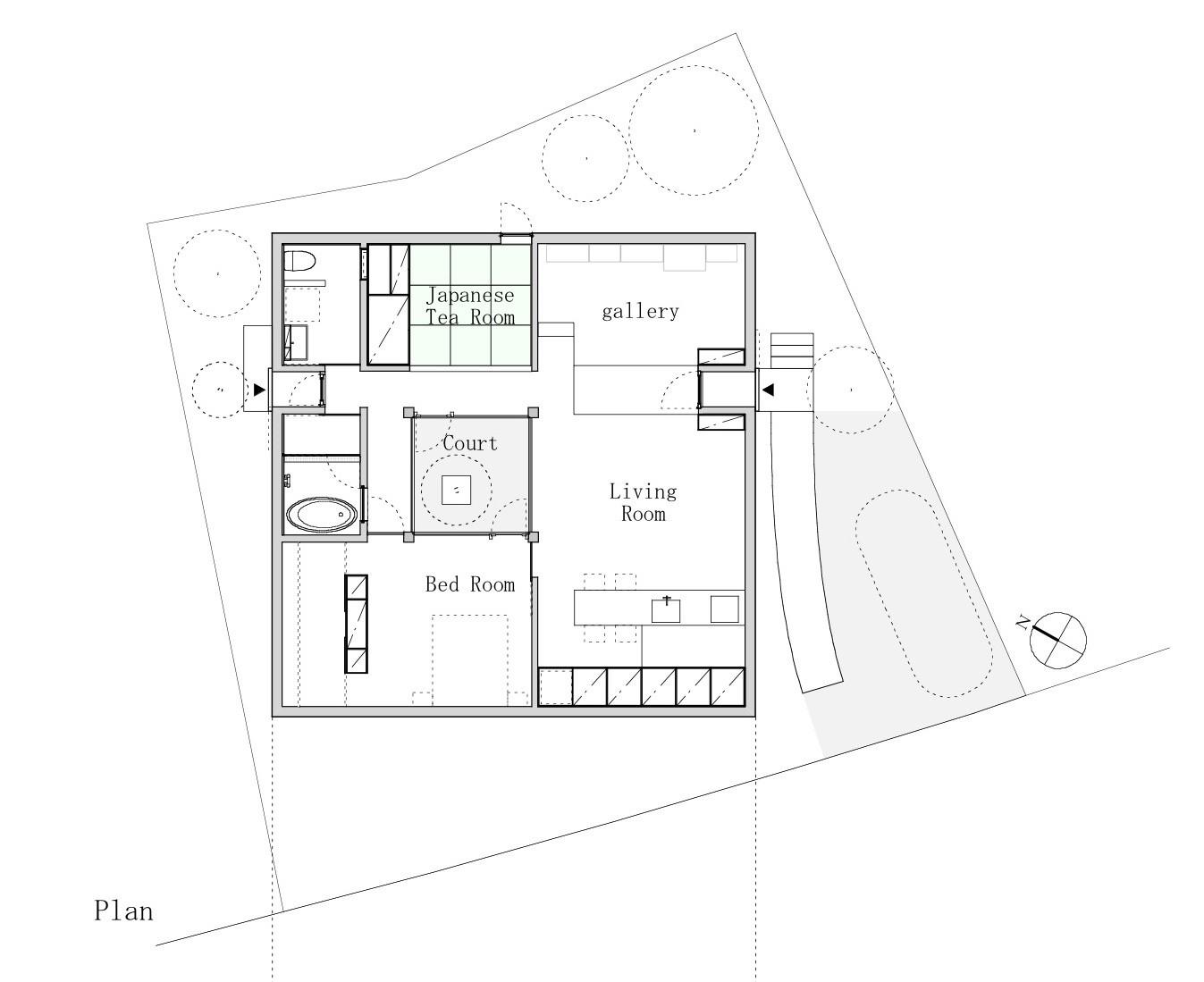 house im miyahara architect office archdaily