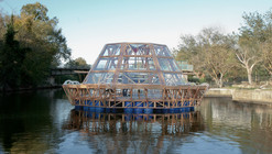 """Jellyfish Barge"" Provides Sustainable Source of Food and Water"