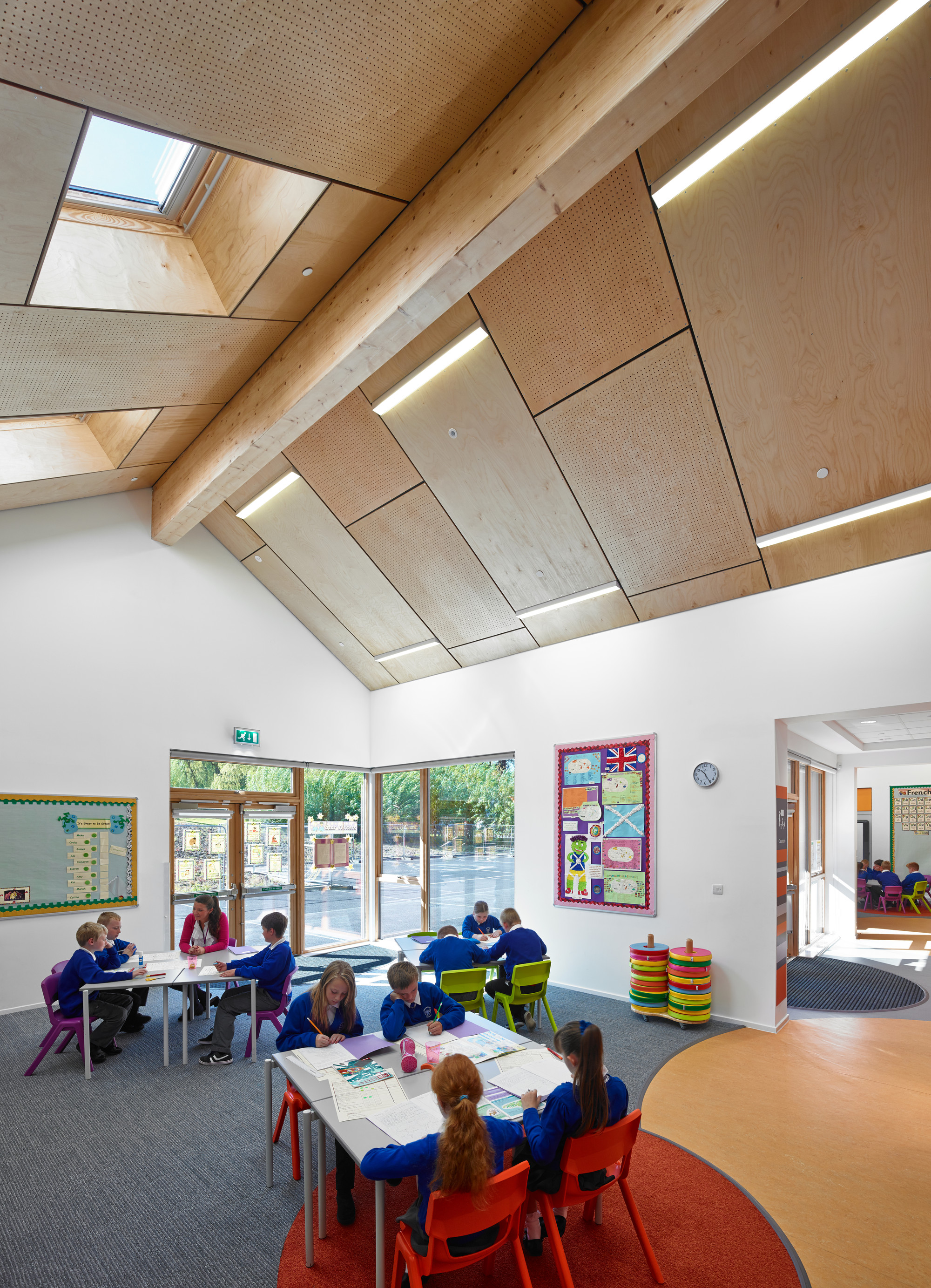 Gallery of kirkmichael primary school holmes miller 5 for Architecture interior design schools