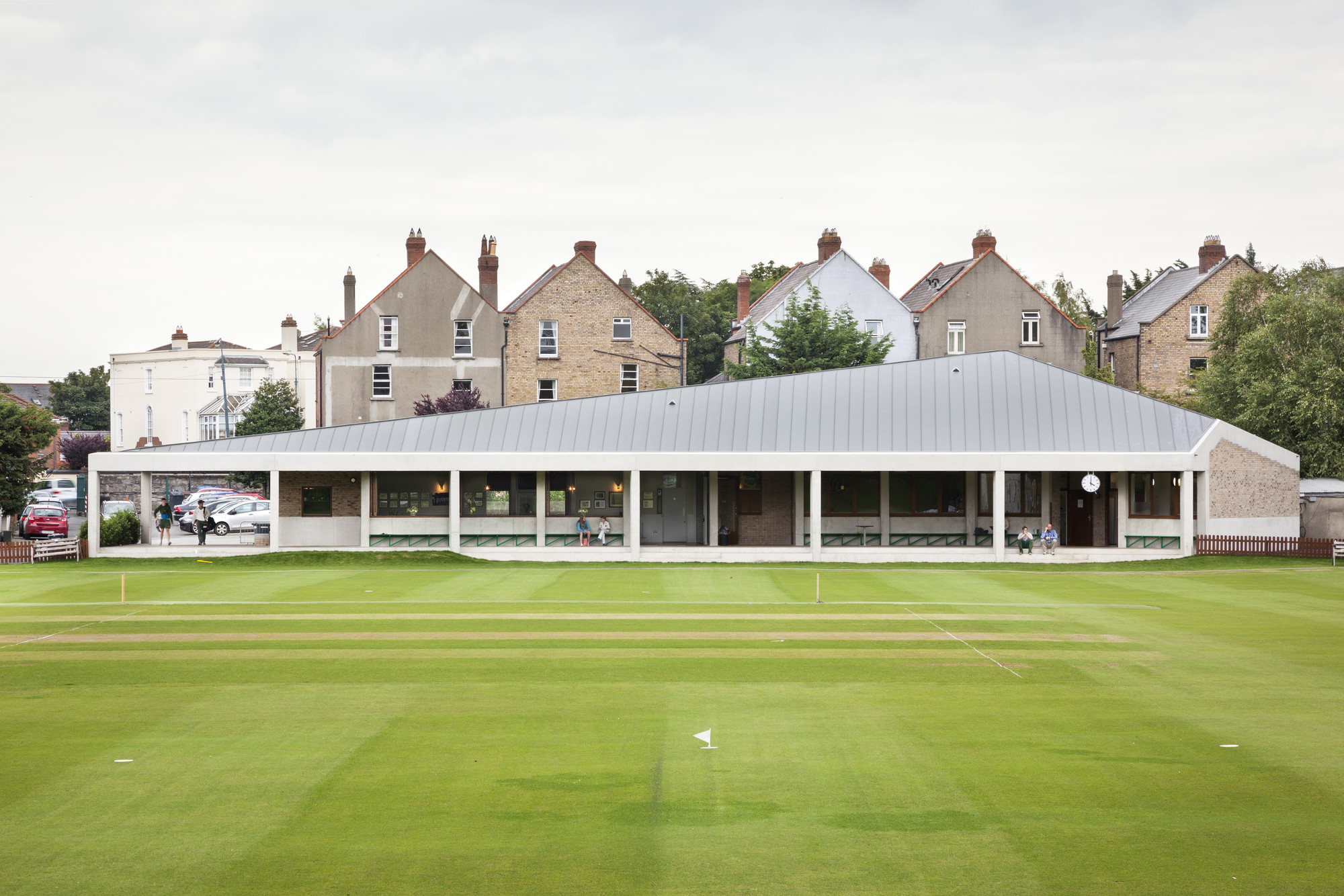 Club de Cricket Merrion / TAKA Architects, © Alice Clancy