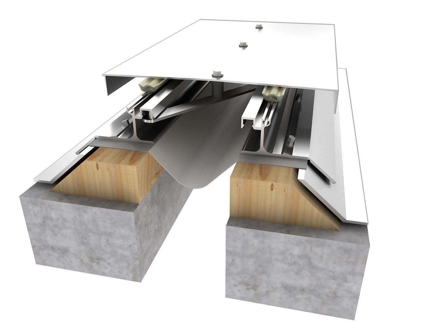 Cubrejunta Exterior Techo de Aluminio (CETAL) / Sysprotec