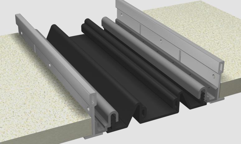 Materiales: Cubrejuntas para Edificios con Aislación Antisísmica