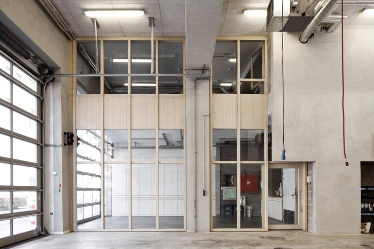 Estación de bomberos de la ciudad de Antwerp / Hub, © Ilse Liekens