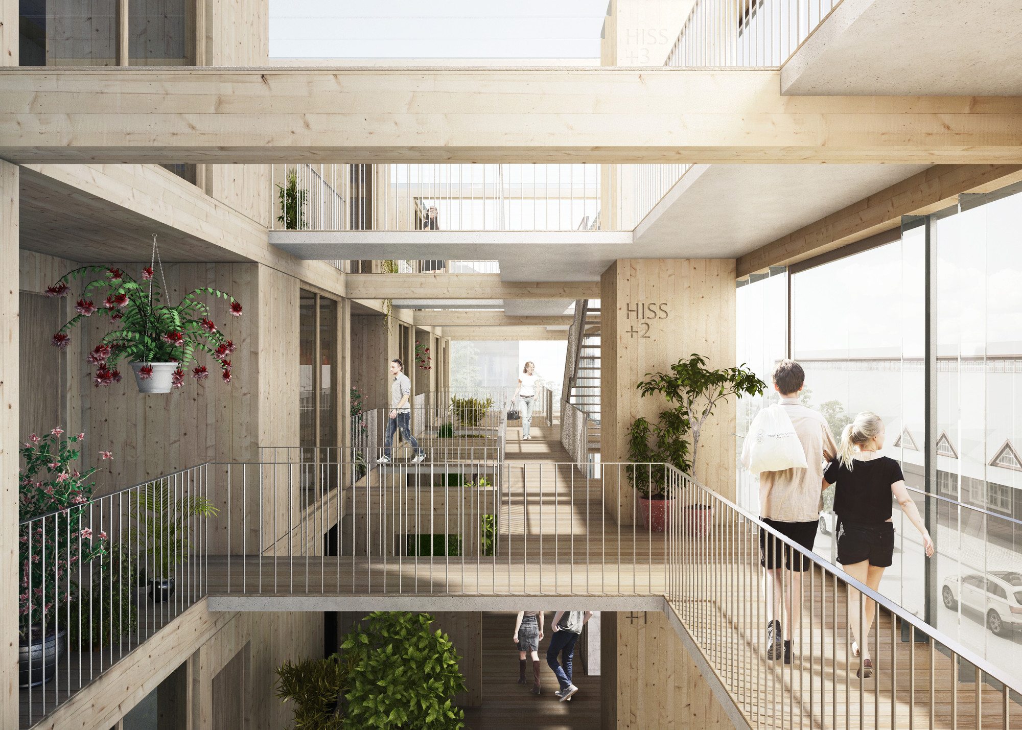 Jaja Wins Second Prize For Swedish Housing And Market Hall