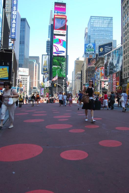 StreetPrint aplicado en Time Square, Nueva York