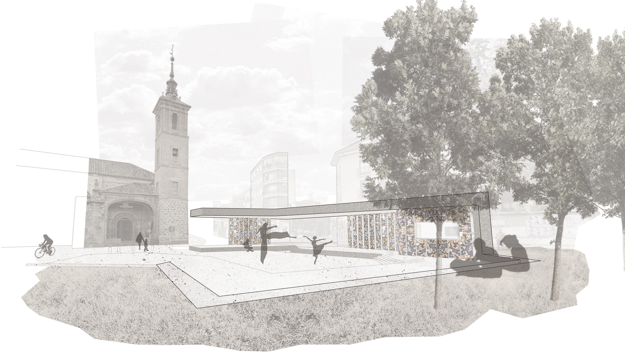 OOIIO Arquitectura, primer lugar en concurso de rehabilitación de Plaza del Salvador / España, Cortesia de OOIIO Arquitectura