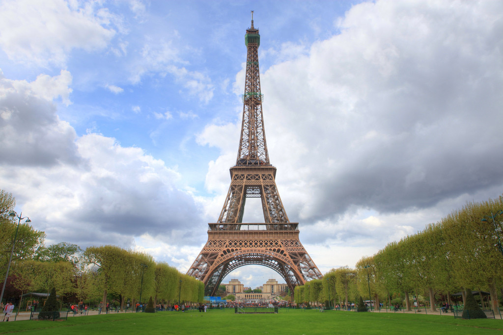 The Eiffel Tower. Image © Flickr CC User Anirudh Koul