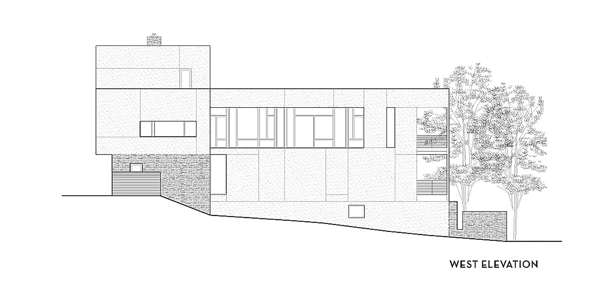 Elevation Plan On D Max : Gallery of brandywine house robert m gurney architect