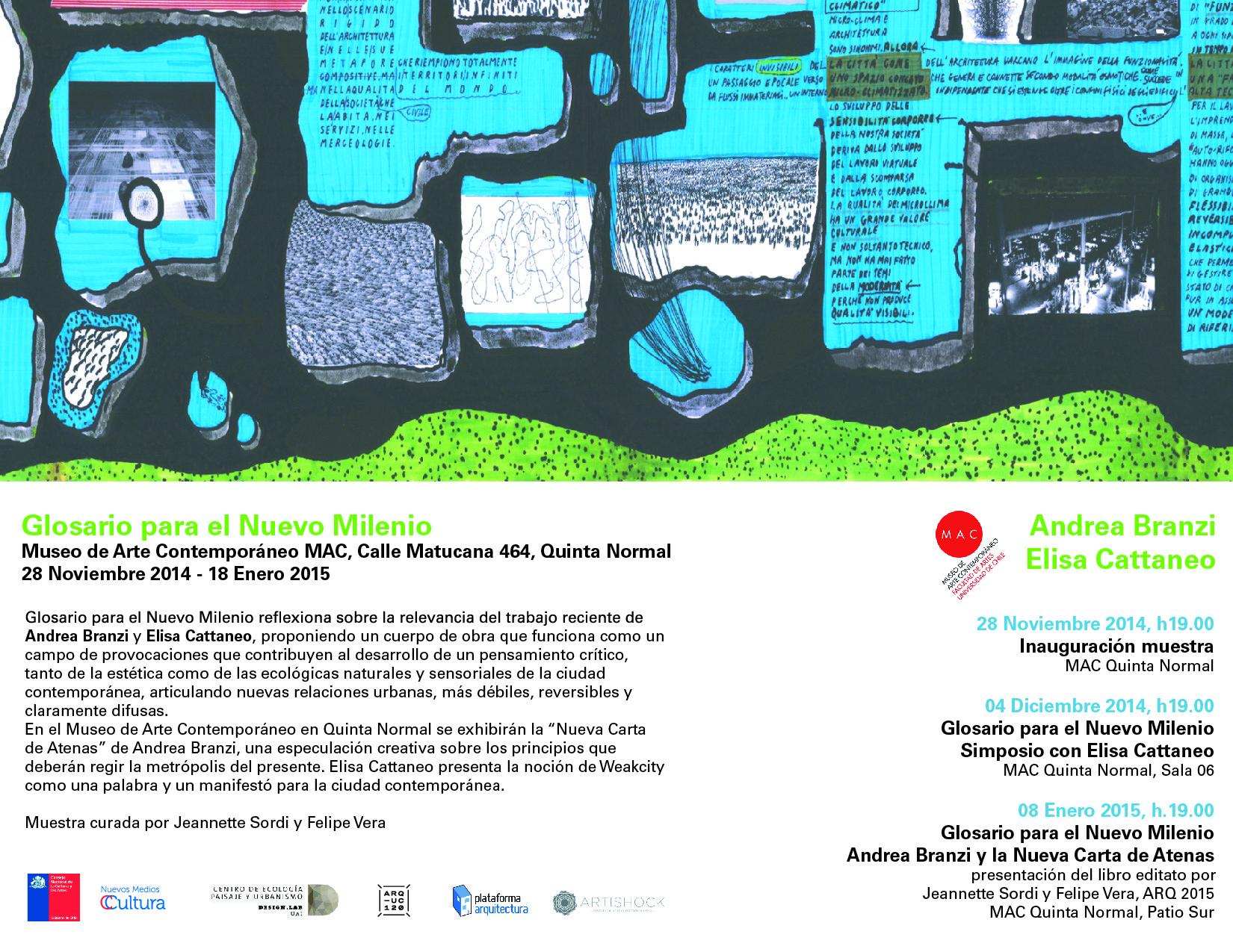 Andrea Branzi: glosario para el nuevo milenio / Santiago, Cortesia de Felipe Vera