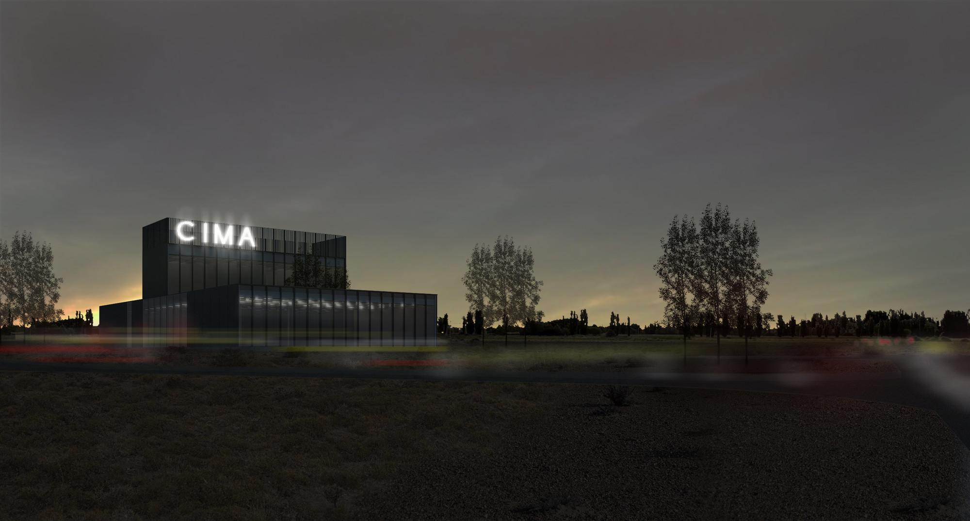 Primer lugar en concurso de nueva sede de la Cámara Industrial de Puerto Madryn / Argentina, Cortesia de Agencia de Arquitectura