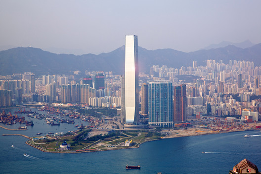 International Commerce Centre / KPF. Image © KPF