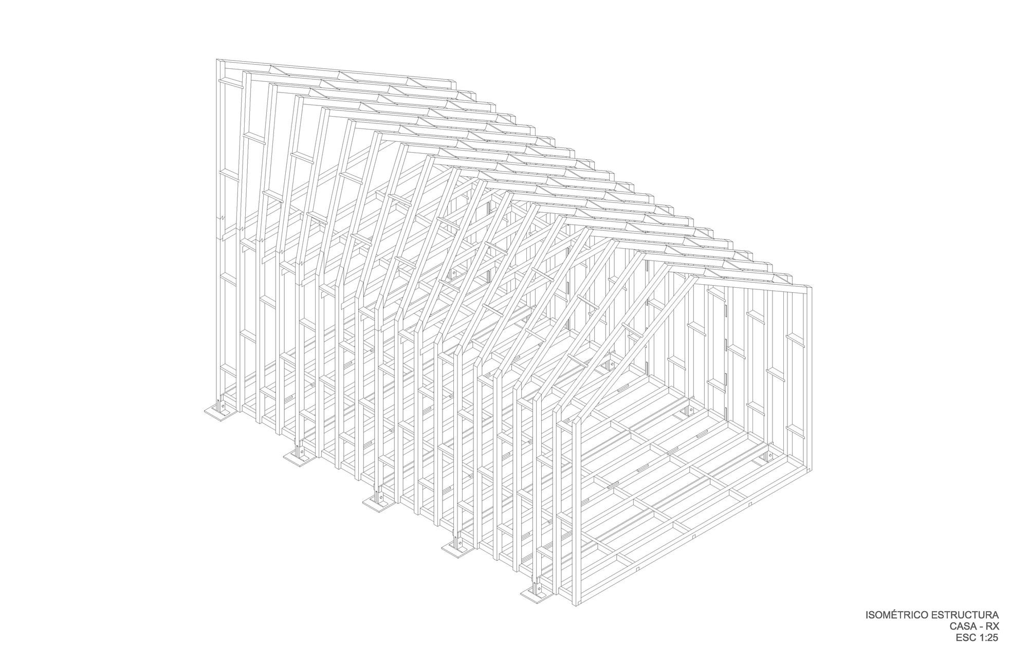 Isométrico estructura