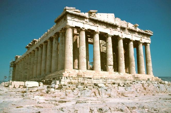 Las impresionantes estructuras de la antigua Grecia incentivaron al arquitecto nazi Albert Speer diseñar edificios que lucirían bien como ruinas. Imáge, © Flickr CC User GothPhil