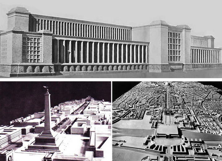 Propuesta de arquitectura nazi que nunca dió frutos